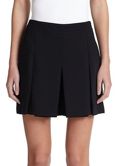 Proenza Schouler Pleated Cloque Skirt