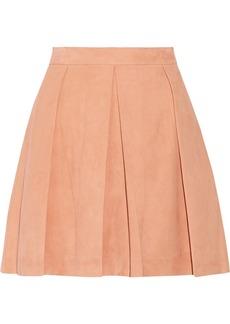 Proenza Schouler Pleated nubuck skirt