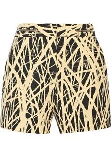 Proenza Schouler Printed crepe shorts