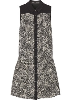 Proenza Schouler Printed silk-crepe dress