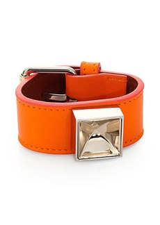"Proenza Schouler PS11 Leather Bracelet/2"""