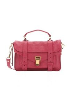 Proenza Schouler raspberry leather 'PS 1 Tiny' satchel bag