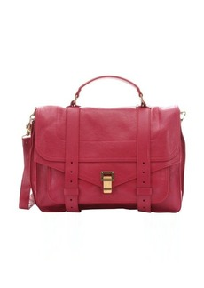 Proenza Schouler raspberry leather small 'PS 1' convertible shoulder bag