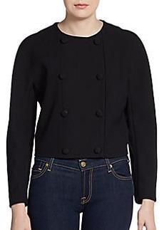 Proenza Schouler Round-Shoulder Jacket