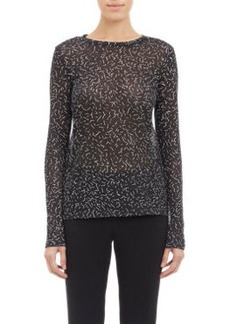 Proenza Schouler Scribble Long-Sleeve T-Shirt