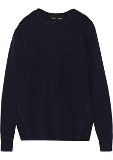 Proenza Schouler Silk, cotton and cashmere-blend sweater
