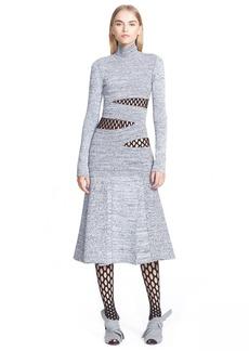 Proenza Schouler Slash Detail Jersey Dress