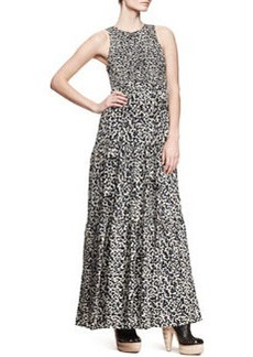 Proenza Schouler Sleeveless Printed Maxi Dress