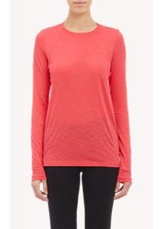 Proenza Schouler Slub-Knit Long-Sleeve T-shirt