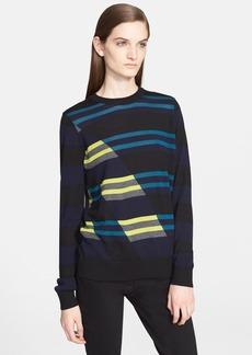 Proenza Schouler Stripe Wool Blend Sweater