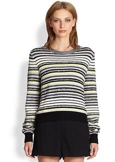 Proenza Schouler Striped Crewneck Sweater