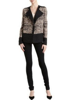 Proenza Schouler Tweed Double-Breasted Jacket