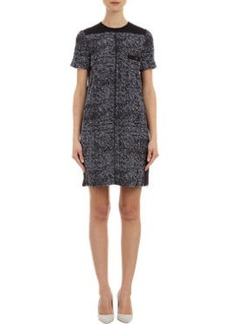 Proenza Schouler Tweed Short-Sleeve Shift