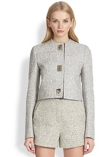 Proenza Schouler Tweed Turnlock Jacket