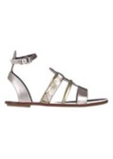 Proenza Schouler Two-Tone Origami Sandals