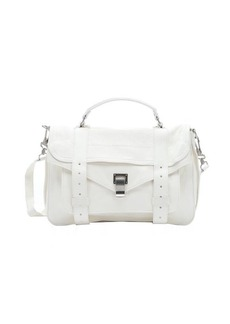 Proenza Schouler white leather 'PS1' medium convertible satchel