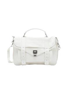 Proenza Schouler white leather 'PS1' medium convertible satchel