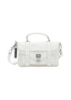 Proenza Schouler white leather 'PS1 Tiny' mini convertible satchel