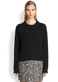Proenza Schouler Wool-Cashmere Cropped Sweater