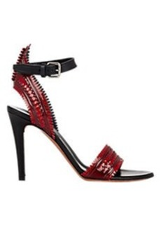 Proenza Schouler Woven Ankle-Strap Sandals