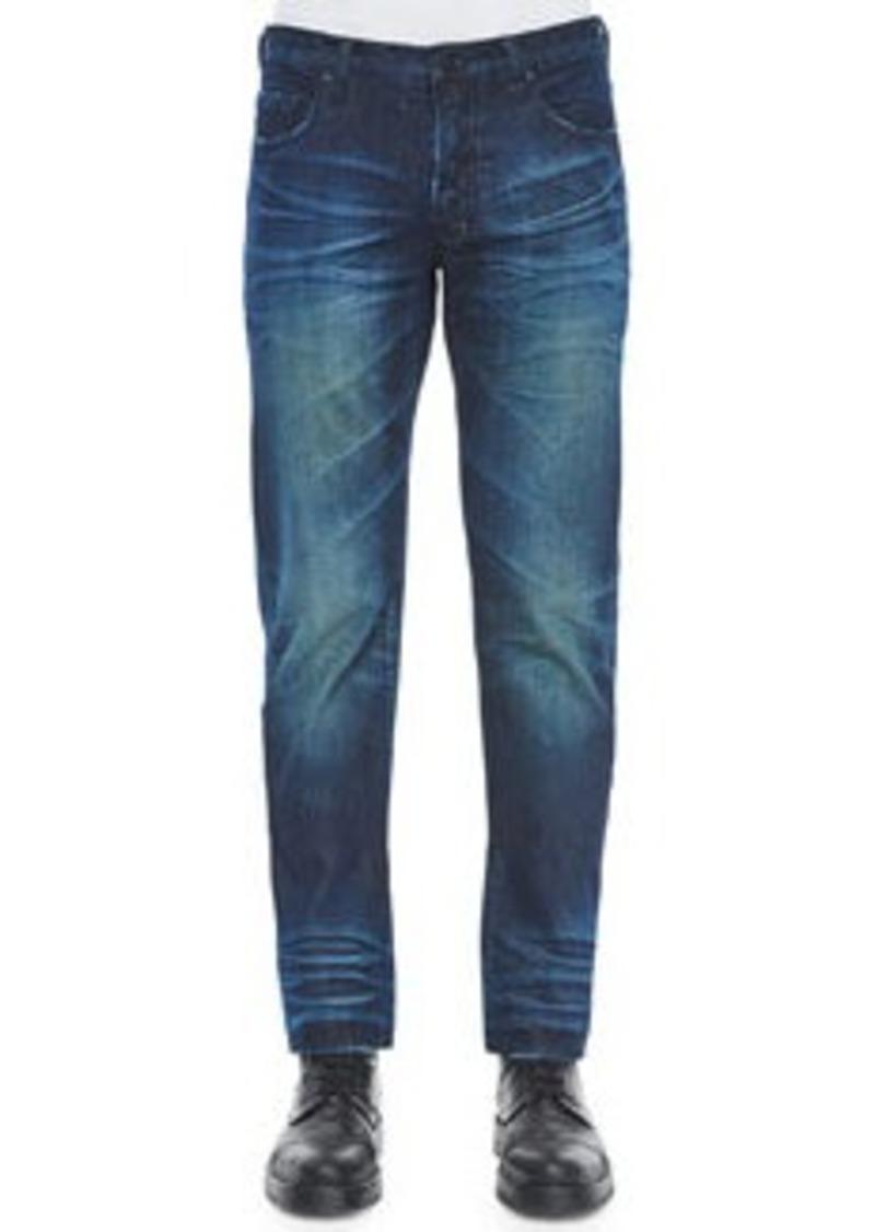prps barracuda blue fire engine denim jeans indigo. Black Bedroom Furniture Sets. Home Design Ideas