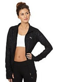 Embossed Fitness Jacket