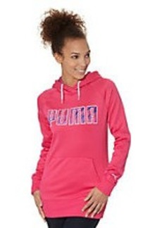 Fleece Hoodie with Extended Cuffs