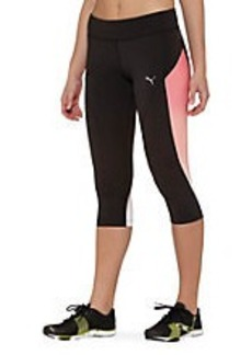 Gym Graphic 3/4 Tights (Tight Fit)