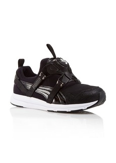Puma Sneakers - Women's Disc Black and White