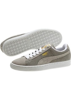 Suede Classic Blocks and Stripes Lo Women's Sneakers