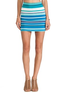 Rachel Pally Bandage Mini Skirt in Blue