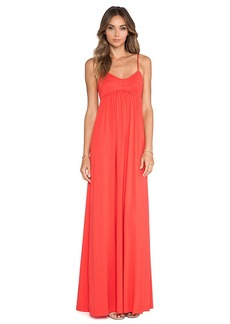 Rachel Pally Crane Maxi Dress in Red