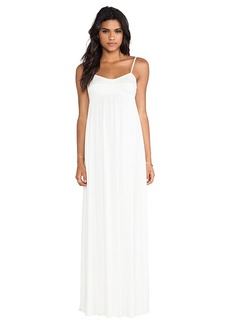 Rachel Pally Crane Maxi Dress in White