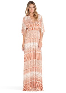 Rachel Pally Long Caftan Dress in Burnt Orange