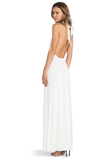 Rachel Pally Renee Halter Dress in Ivory