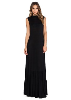 Rachel Pally Rib Hattie Dress in Black