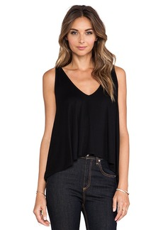 Rachel Pally Rib Ramita Tank in Black