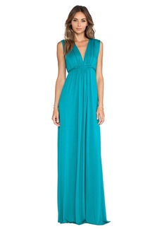 Rachel Pally Sleeveless Maxi Caftan in Teal