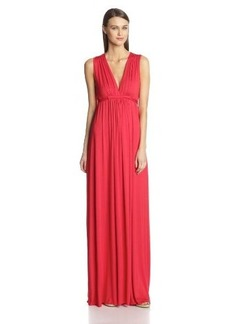 Rachel Pally Women's Solid Long Sleeveless Caftan Dress