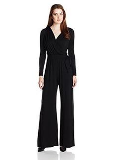 Rachel Pally Women's Tristan Long Sleeve Surplice Front Jumpsuit