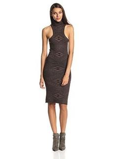 Rachel Pally Women's Turtleneck Mid-Length Sweater Dress