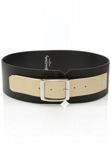 Rachel Pally Women's Wide Leather Belt