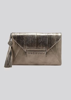 Rafe New York Clutch - Bambina Embossed Snake Envelope