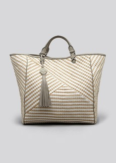 Rafe New York Tote - Joey Striped Jute Simple Tote