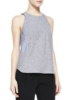 Adeline Patterned Sleeveless Top   Adeline Patterned Sleeveless Top