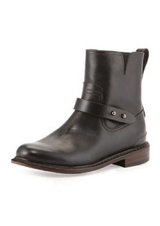 Rag & Bone Ashford New Moto Boot, Black