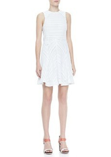 Basha Sleeveless Burnout Dress   Basha Sleeveless Burnout Dress
