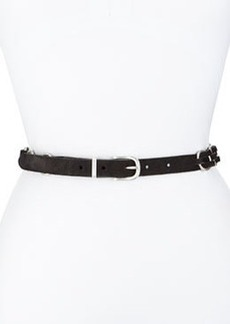 Bradbury Woven Suede Hip Belt, Black   Bradbury Woven Suede Hip Belt, Black