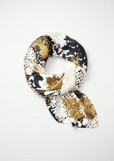 Camo silk scarf