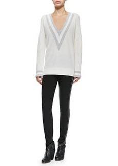 Cashmere Talia V-Neck Sweater   Cashmere Talia V-Neck Sweater